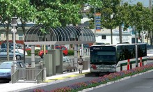 BRT station by ACTransit (dot) org