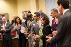 Transit Night at the Maryland State House, March 9, 2015. Photo by Aimee Custis for Coalition for Smarter Growth.